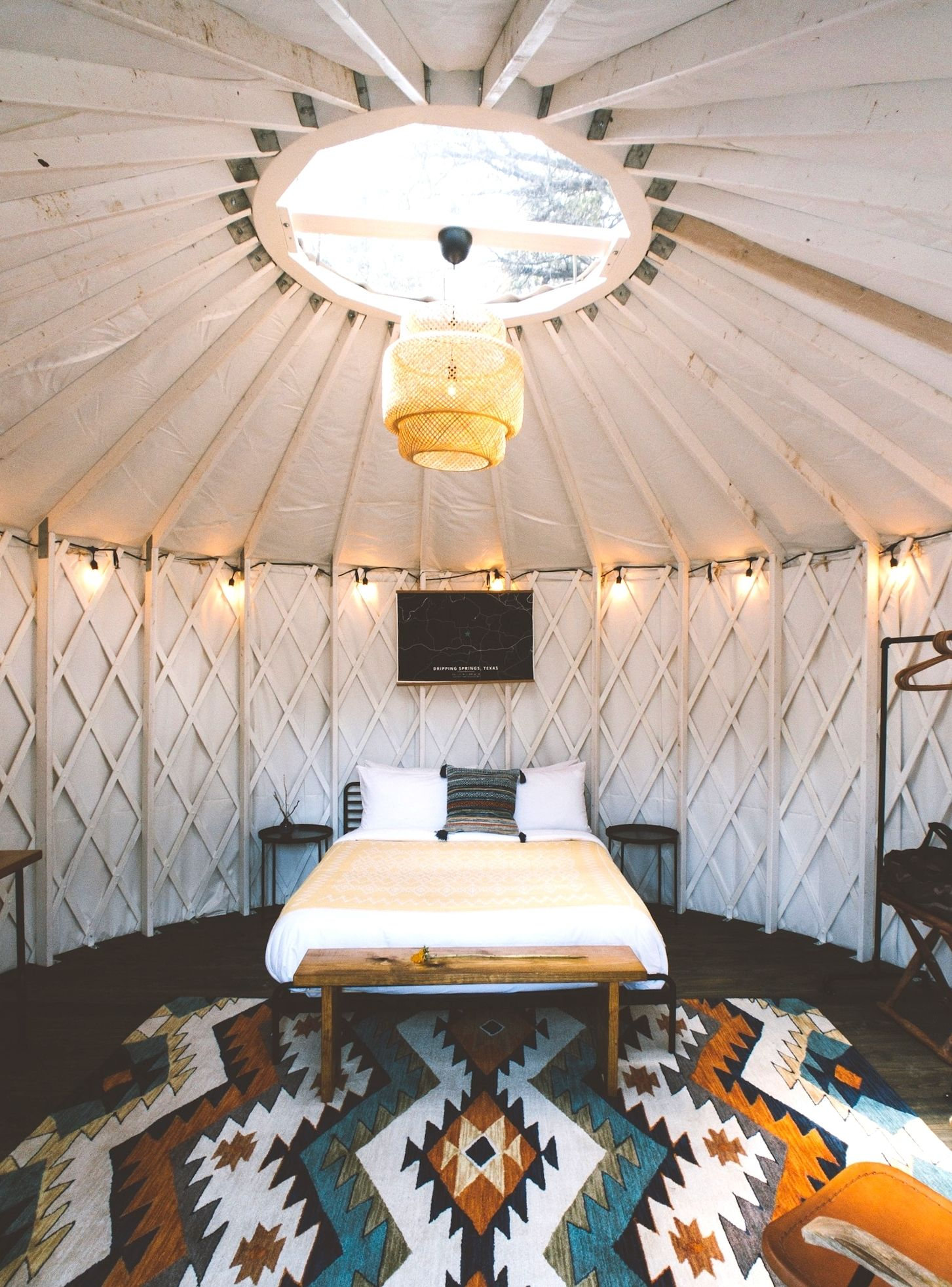 Texas Hill Country Hotel Yurt In Dripping Springs