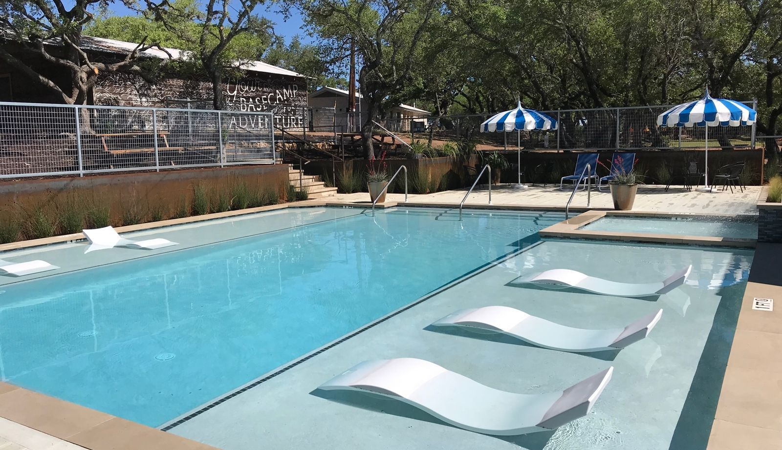 Lucky Arrow Retreat Dripping Springs Hotel Pool